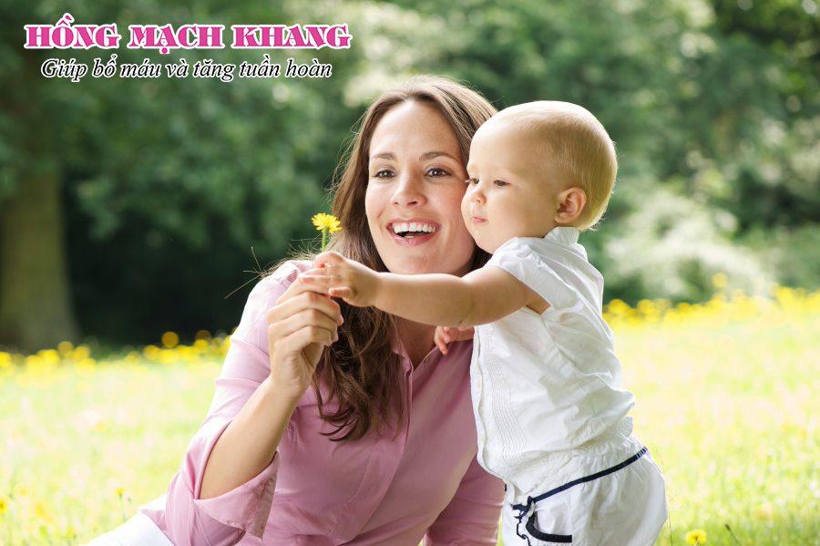 Nhờ dùng sản phẩm tốt, tình trạng thiếu máu sau sinh có thể giảm đáng kể